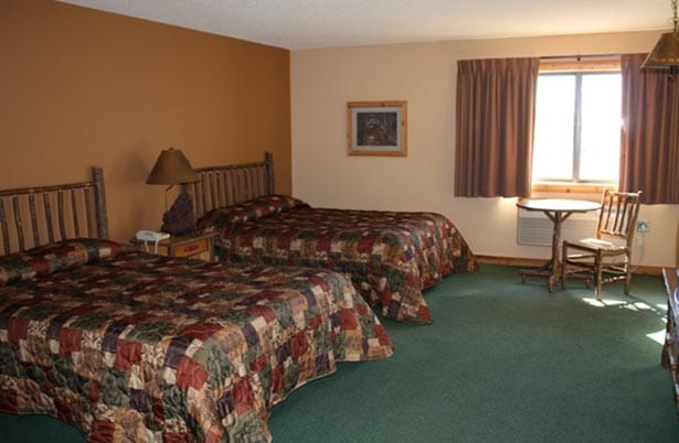 Crooked Lake - Two bed suite.